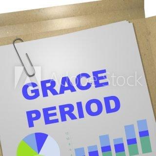 Grace Period - business concept