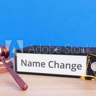 I-130 name change