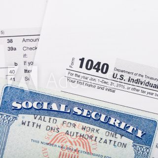 green card Social Security Number card